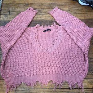 Zaful Cropped Sweater